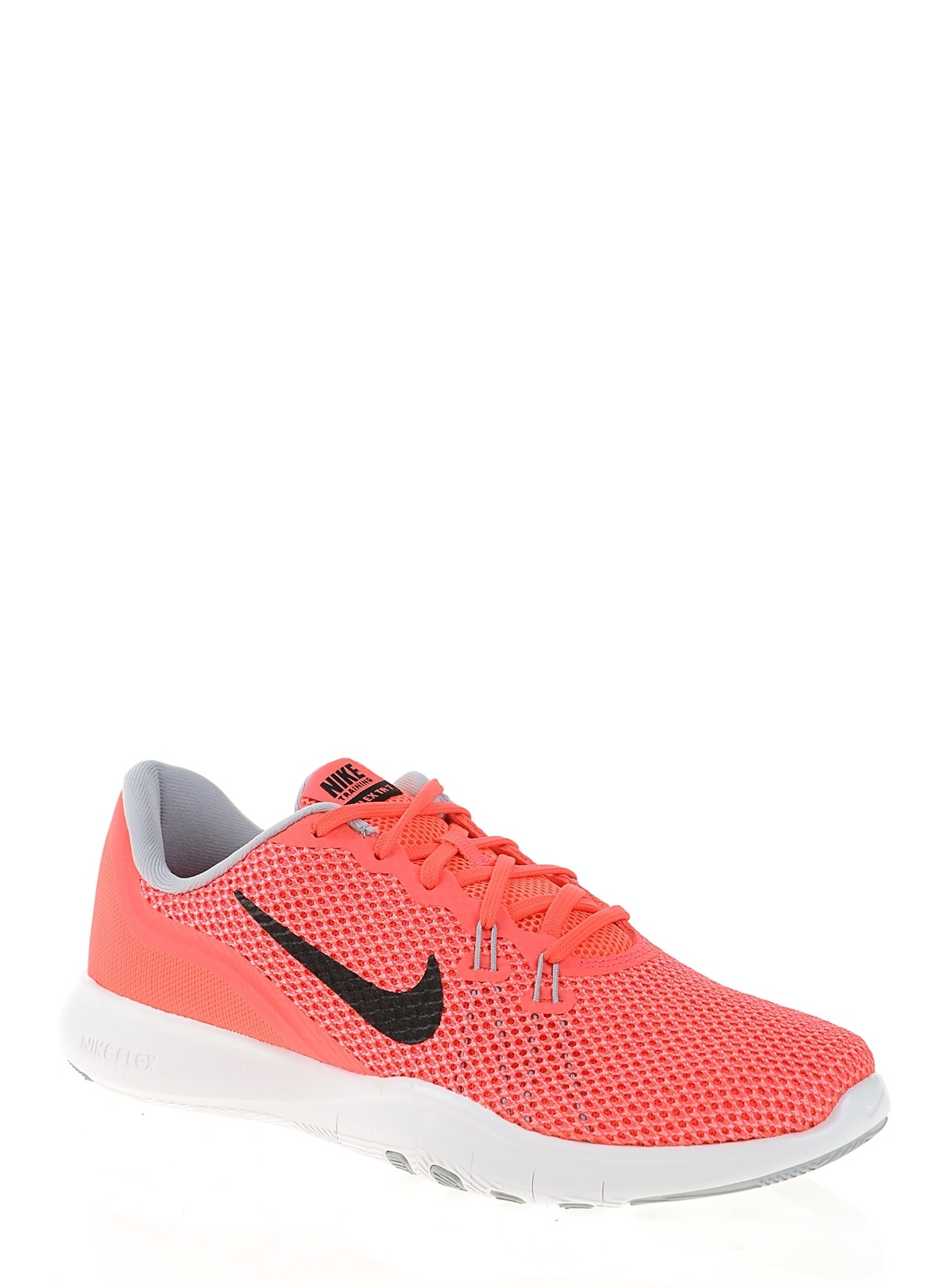 93ac45e2adf3 Nike Kadın W Nike Flex Trainer 7 Solar Red Black-Hot Punch-Wolf ...
